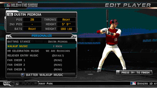 MLB 09 The Show Screenshot Sounds5