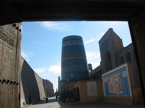 Nooit afgewerkte minaret