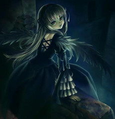 will you die by my hands? (Death~Angel) Tags: black anime cute beautiful angel dark wonder death sadness trapped hurt wings wolf pretty kill alone sad stuck crying falling forgotten fallen soul violence warrior lonely betrayed shinigami