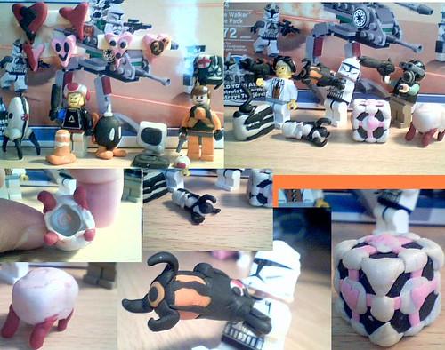 sculpey custom lego minifig parts