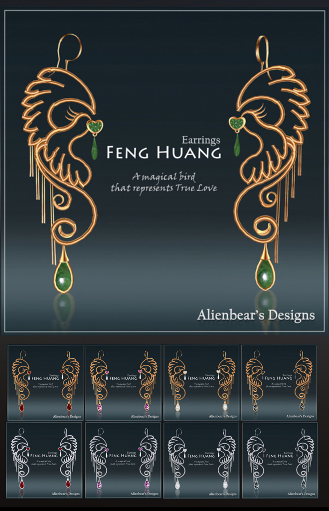 Feng Huang Earrings all