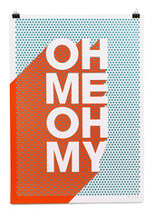 Oh Me Oh My | James Joyce (bobeightpop) Tags: screenprint fineart a1 jamesjoyce colorplan bep ohmeohmy bobeightpop 840mmx594mm