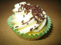 Mini Vanilla (White Version) (Dario Dr.Pepper Maggiore) Tags: pink brown green cupcakes sweet coconut chocolate cream butter donuts raspberry vanilla muffin cocoa flour frosted delights frostedcream