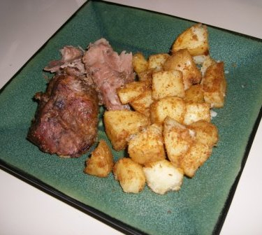 Bittman's HTCE: Puerto Rican Style Pork Shoulder and Oven Roasted Potatoes