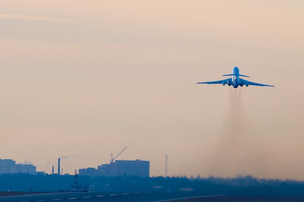 Aeroflot Russian Airlines RA-85647 Tupolev TU-154M