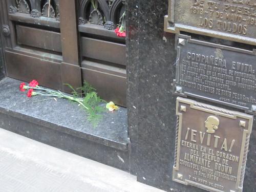Buenos Aires - Recoleta Cemetary - Evita Grave