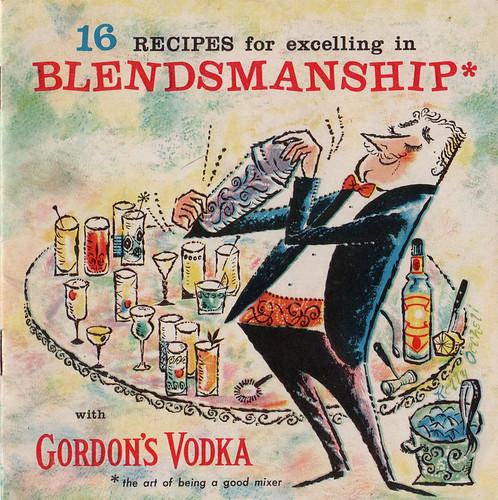Gordon's Vodka booklet
