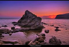 Eye Witness (tolis*) Tags: sunset sea summer canon island rocks aegean tokina greece shore chios agia markella 50d 1224f4 eos50d tolis    flioukas