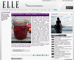 ELLE - FIL BLOG - 16 juillet 2009