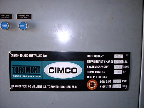 Compressor model ID tag