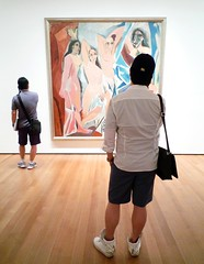 Pablo Picasso, Les Demoiselles d'Avignon visitors