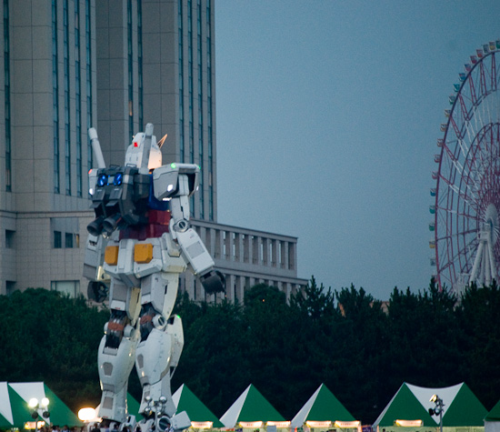 Gundam from the Water