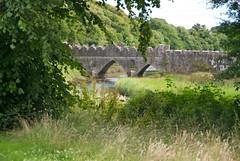 Tintern Abbey Bridge (non HDR) (Wayne.Brown) Tags: bridge abbey hook cistercian tinternabbey tintern cowexford nikond80 hookpeninsula