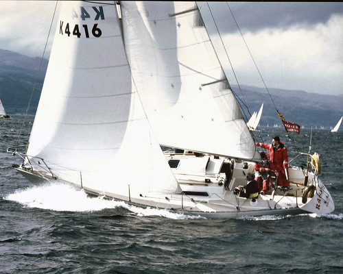 yachting tarbert lochfyne 4416 sigma33 sigma334416 gbr4416 k4416