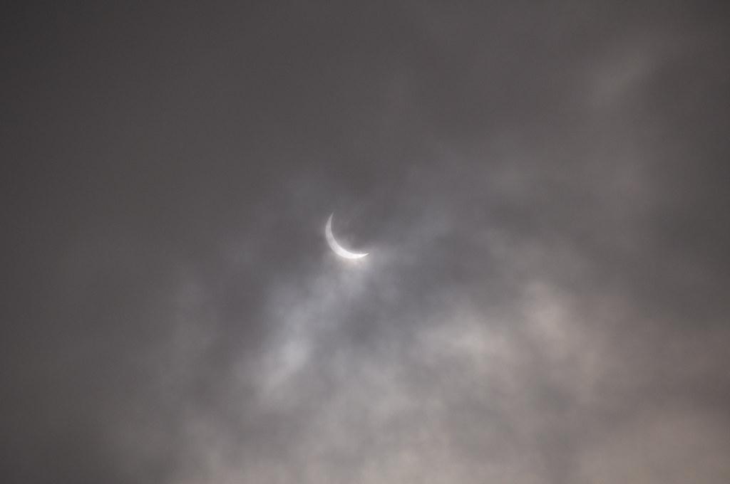 日蝕 / Solar eclipse