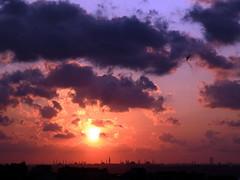 Sunset Over Old Istanbul (Reflection of the Lost Beauty) (Claudee Monett) Tags: blue sunset turkey sofia türkiye istanbul palace mosque topkapı hagia turchia ayasofya turkei