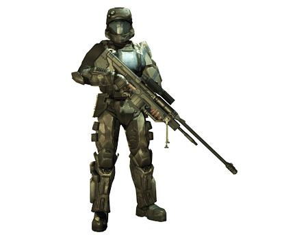 Halo 3 ODST (Romeo)