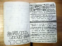 Echo '09 Sketchnotes - Phil Vischer (Joshua Blankenship) Tags: moleskine sketchnotes philvischer echo09