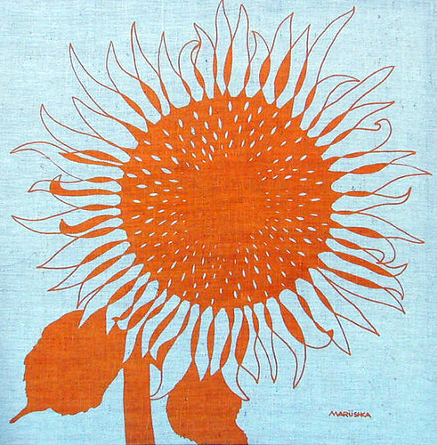 Marushka - sunflower (orange)