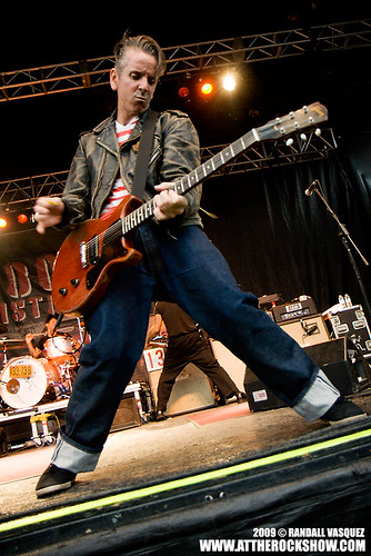 Social Distortion at Wakestock 2009