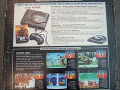 Sega Genesis - Back of the box
