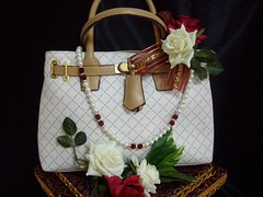 Royal red Ladies handbag set (Gubahan Asmara - Bridal Wedding Gifts) Tags: hantaran gubahan gubahanperkahwinan hantaranmelayu