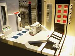 Base - Interior - (6) (Crimso Giger) Tags: architecture lego interior space interieur abs base innerspace moc afol crimsogiger