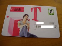 T-Mobile Top-up Card