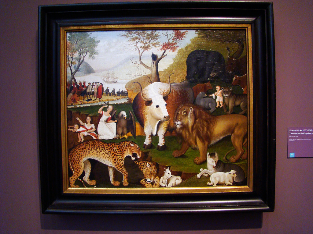 DSC03988 Edward Hicks - Peaceable Kingdom