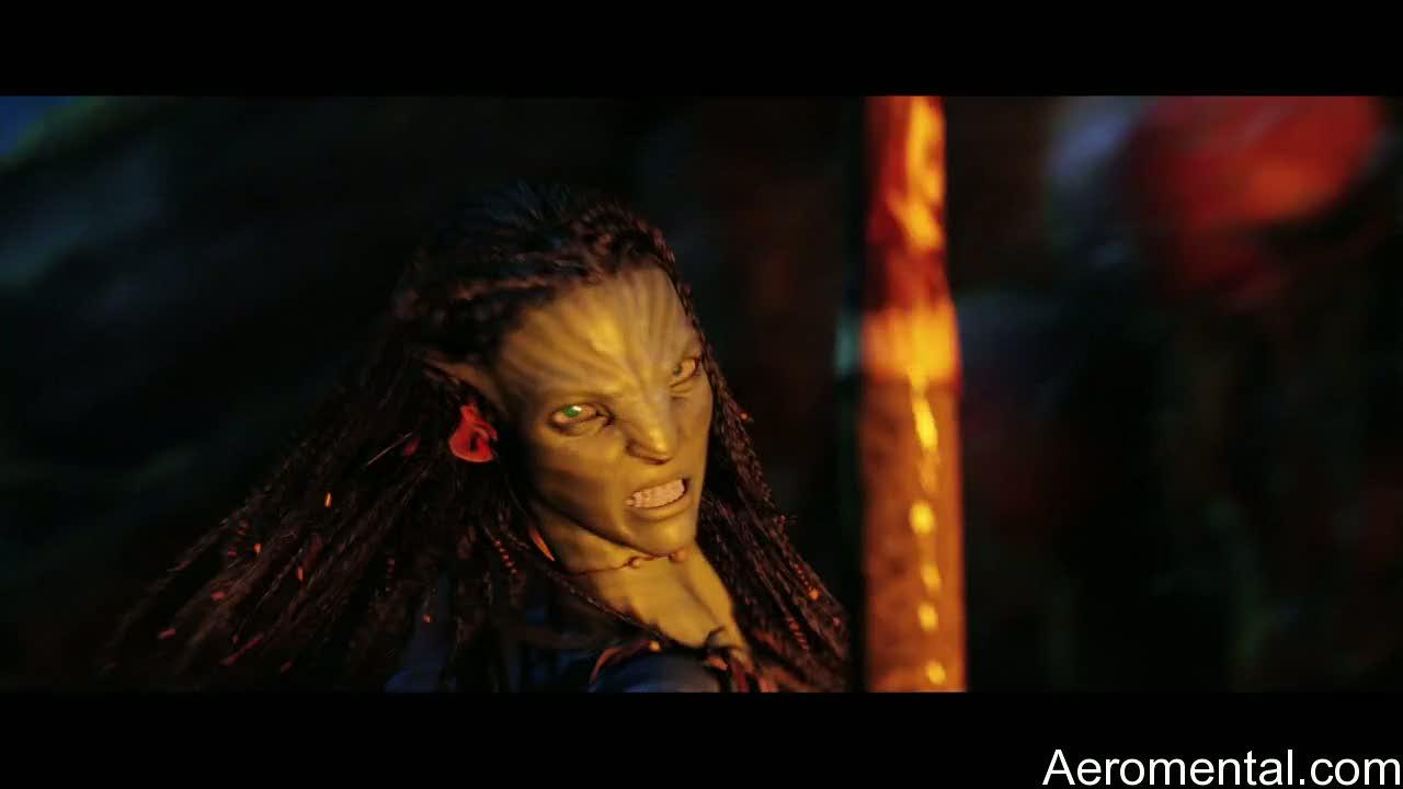 película Avatar guerrero navi
