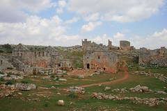 Serjilla, the dead city (flavia.morello) Tags: syria serjilla lpdamaged