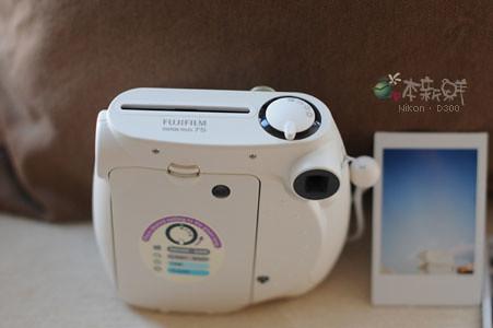 Fujifilm instax mini 7s 背面
