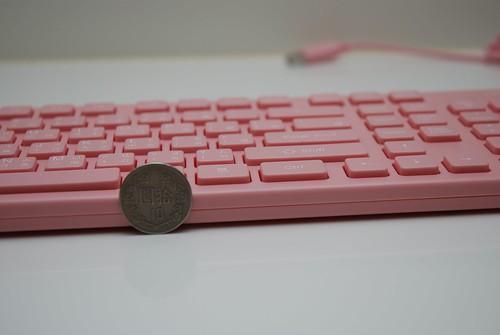 i-rocks KR-6401 粉紅巧克力鍵盤 - 06