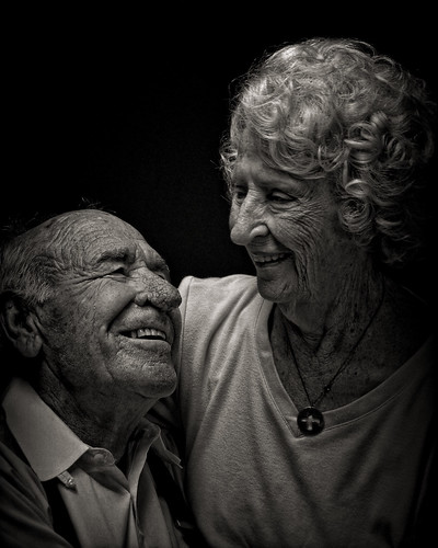 Husband and Wife at Age 92