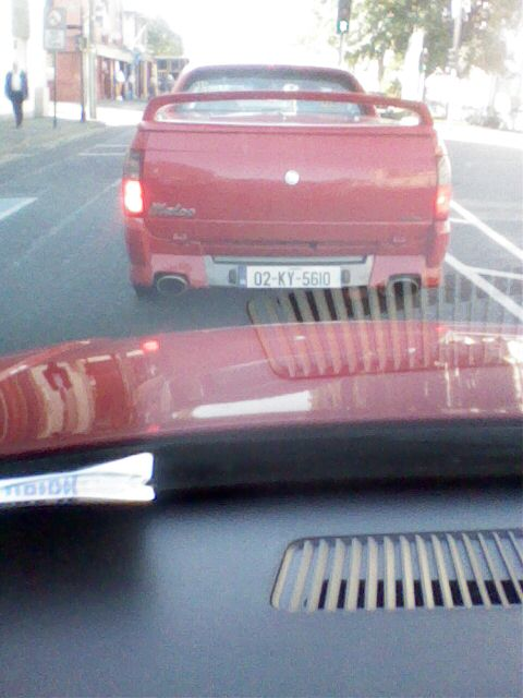 Just got this sent to my phone,It's a Holden Maloo,Spotted in Tralee Co.
