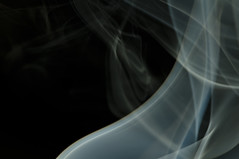 Resonance (photonburst) Tags: abstract motion dark nikon colorful cone smoke creative puff surreal adobe ethereal nikkor float incense wisp drift lightroom whispy waft httpphotonburstwordpresscom20091024photographingsmoke