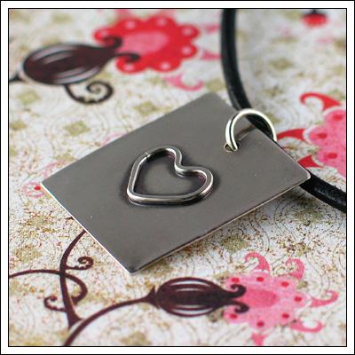 Heart pendant III