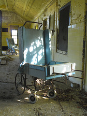 IMG_1625 (Brit Flicks) Tags: decay wheelchair abandonedhospital