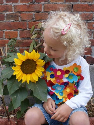 een bloem van een dochter