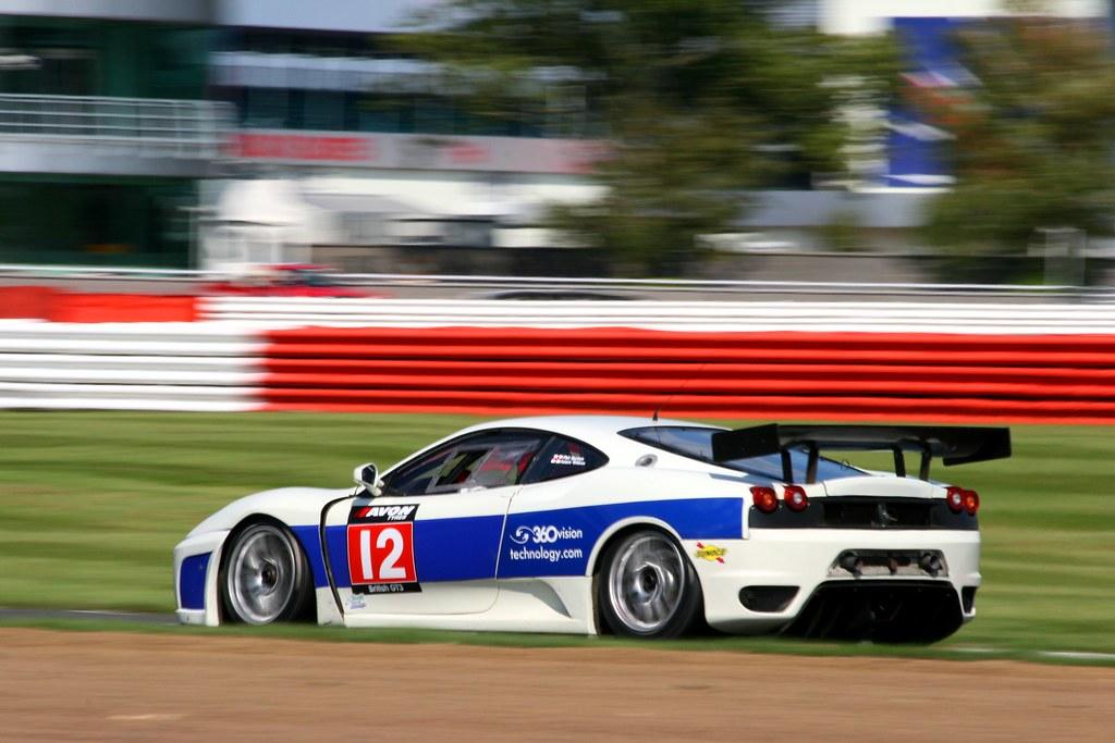 (12) Adam Wilcox & Phil Burton Ferrari 430 GT3 VRS Equipment Finance