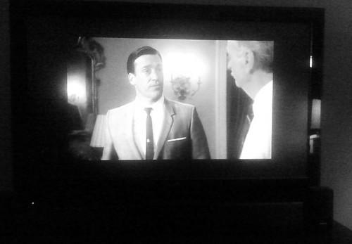 Don Draper & Conrad Hilton