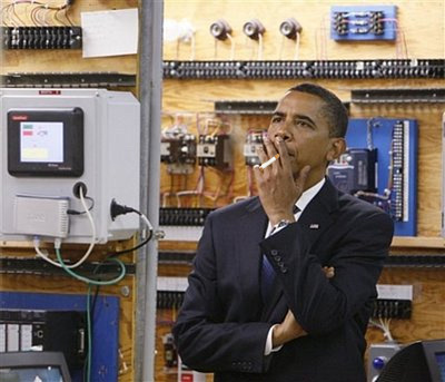 Obama: Fired Up and Ready to Go