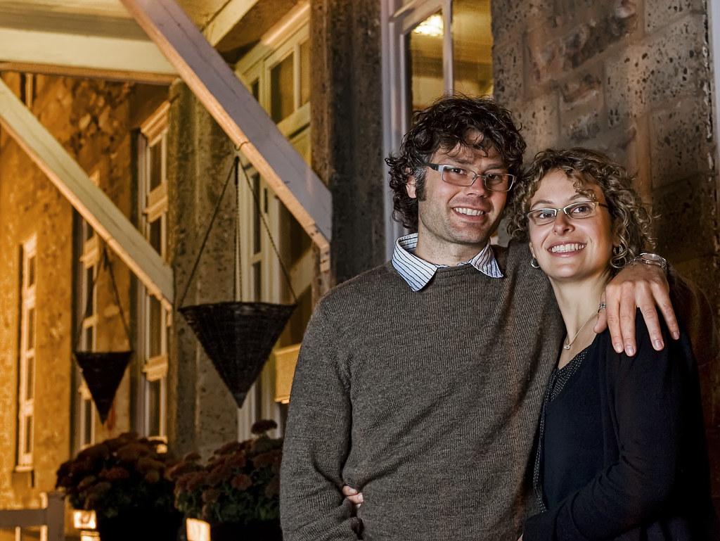 Simon et Vivianne