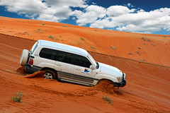 Dune Bashing, Fujairah (sminky_pinky100 (In and Out)) Tags: travel orange tourism fun scary sand desert 4x4 dunes uae sanddunes exciting fujairah dunebashing 5photosaday golddragon abigfave omot eyejewel