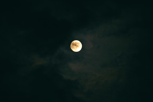 中秋の名月 2 相方のカメラで