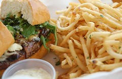 Fathers Office (hinducow) Tags: restaurant office los angeles burger fries fathers