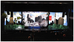 The Adobe MAX Stage in 2009