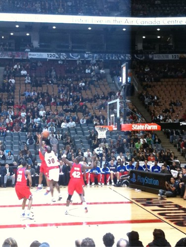 At Large @ NBA Game: Raptors vs 76ers