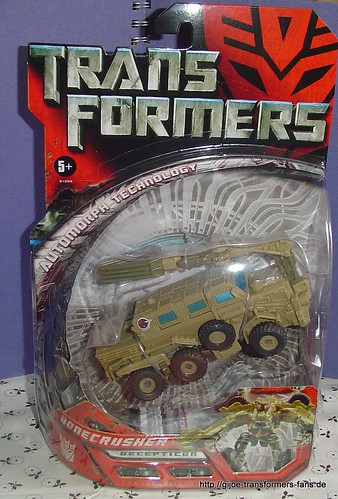 Bonecrusher Movie-2007  Deluxe Transformers 001