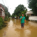 Flood filled Cainta Streets